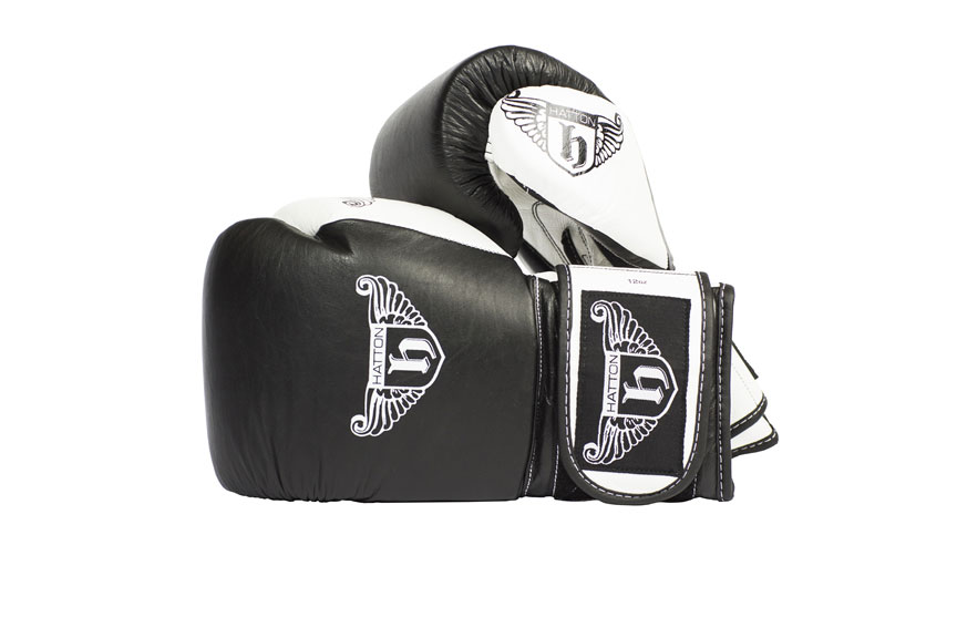 Hatton Pro Sparring Leather Velcro Glove