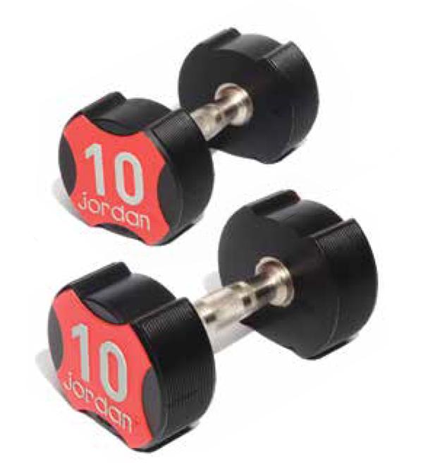 JLUD2-02urethane-dumbbells-pair-5kg
